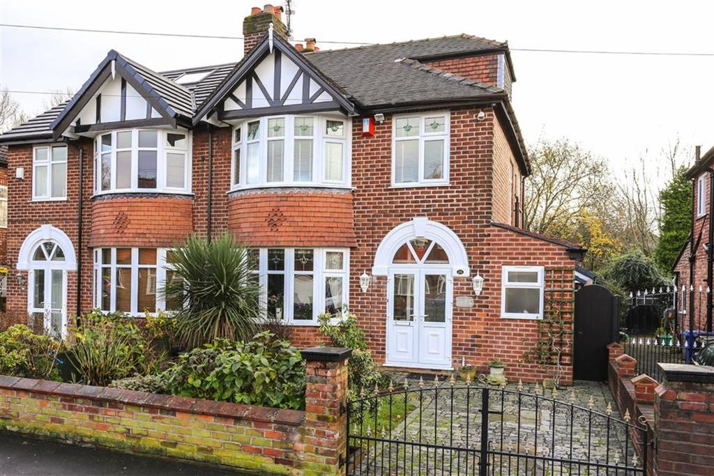 4 Bedrooms Semi Detached House for sale in Brackley Road, Heaton Chapel