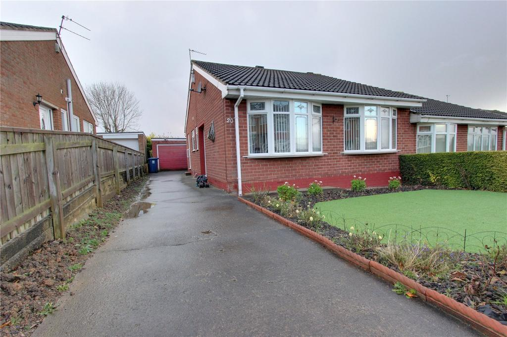 2 Bedrooms Semi Detached Bungalow for sale in Belgrave Drive, Normanby