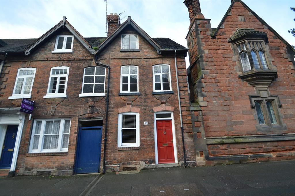 3 Bedrooms Semi Detached House for sale in 31 Abbey Foregate, Shrewsbury, SY2 6BT