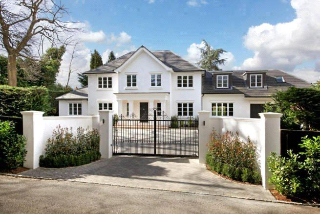 5 Bedrooms Detached House for sale in Shrubbs Hill Lane, Sunningdale, Ascot