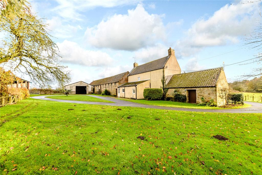 3 Bedrooms Detached House for sale in Longhirst, Morpeth, Northumberland