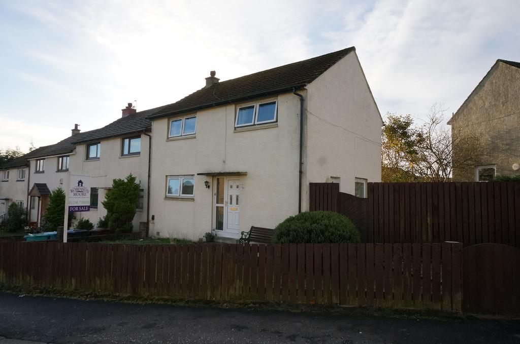 3 Bedrooms End Of Terrace House for sale in Greenfaulds Crescent, Cumbernauld G67