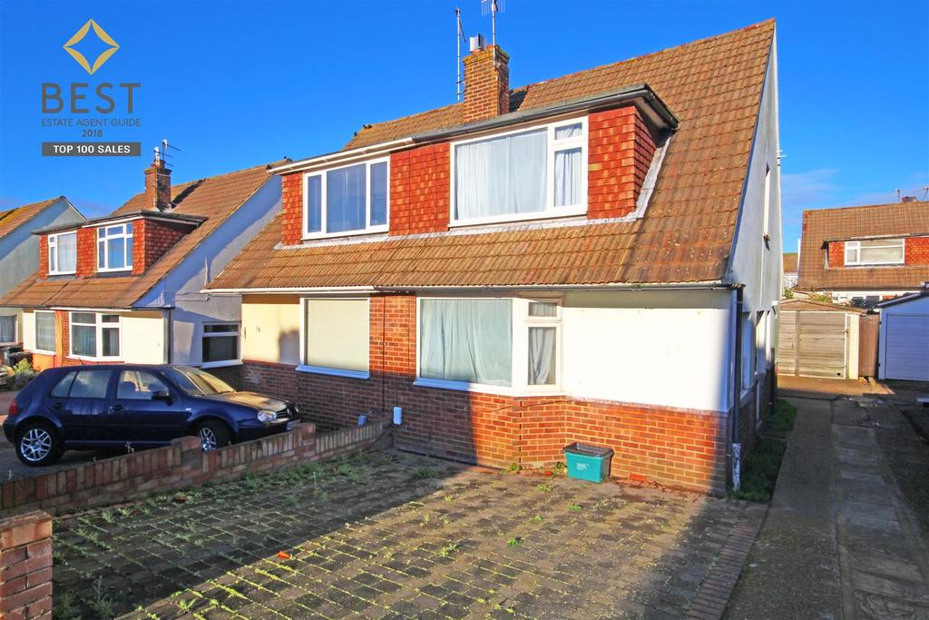 2 Bedrooms Semi Detached House for sale in Thornhill Rise, Portslade, Brighton