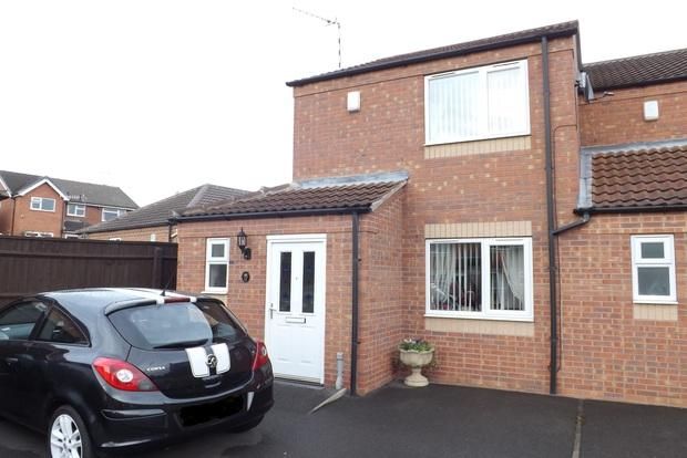 2 Bedrooms Semi Detached House for sale in Oulton Close, Arnold, Nottingham, NG5