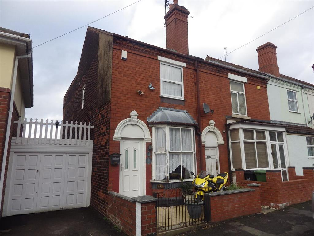 3 Bedrooms End Of Terrace House for sale in Belgrave Road, Halesowen