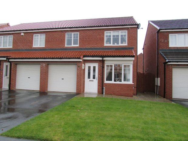 3 Bedrooms Semi Detached House for sale in ORCHID CLOSE, BISHOP CUTHBERT, HARTLEPOOL