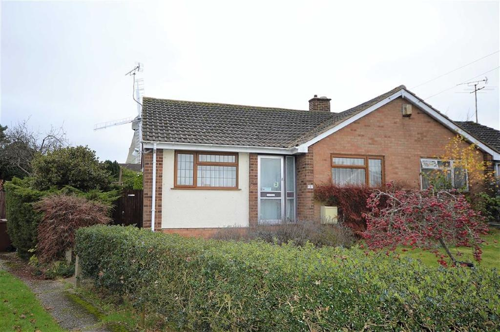 2 Bedrooms Semi Detached Bungalow for sale in Windmill Close, Willesborough, Kent