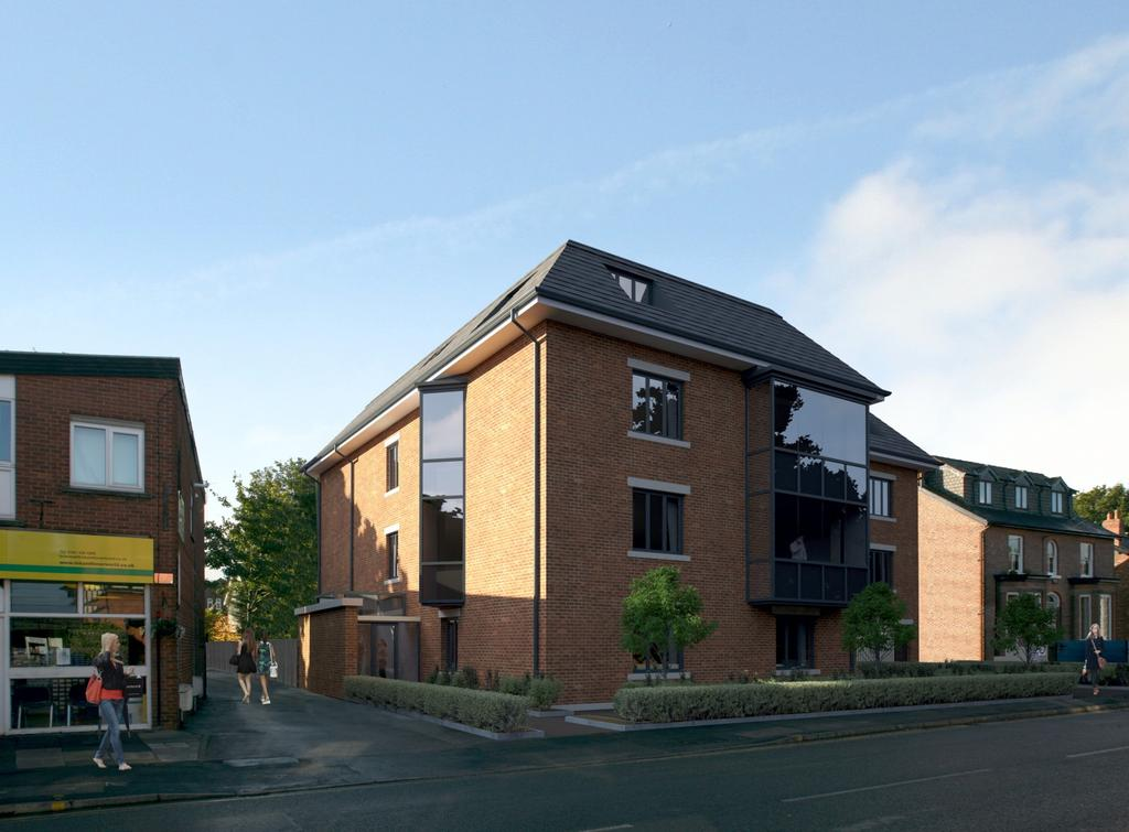 2 Bedrooms Apartment Flat for sale in Richmond Court, Moss Lane, Bramhall