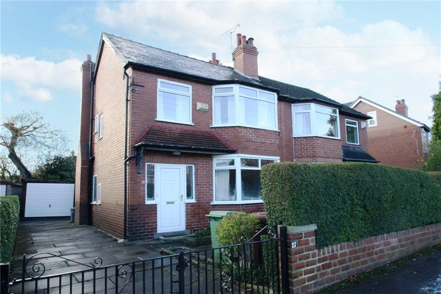 3 Bedrooms Semi Detached House for sale in TALBOT AVENUE, ROUNDHAY, LEEDS, LS8 1AQ