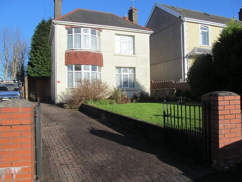 4 Bedrooms Detached House for sale in Frederick Place, Llansamlet, Swansea, City And County of Swansea.