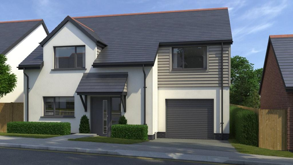 3 Bedrooms Detached House for sale in Penrose View, School Hill, Shortlanesend, Cornwall