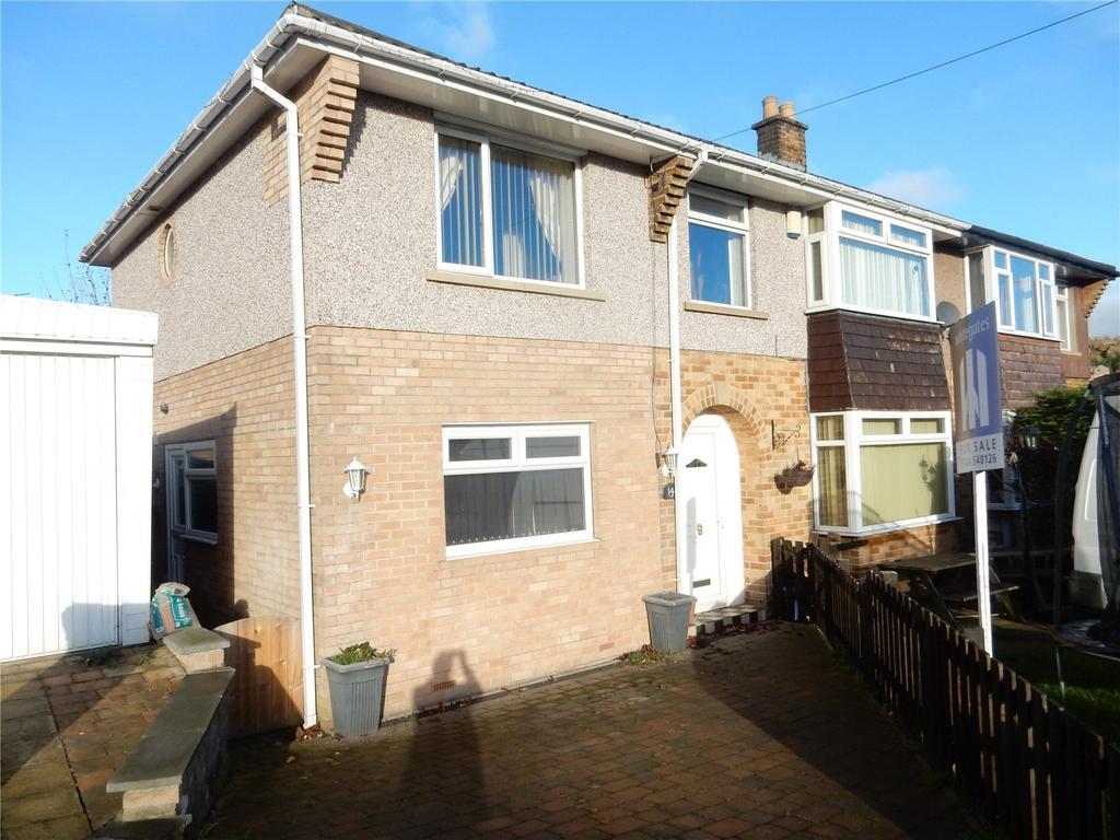 5 Bedrooms Semi Detached House for sale in Ayton Road, Longwood, Huddersfield, HD3