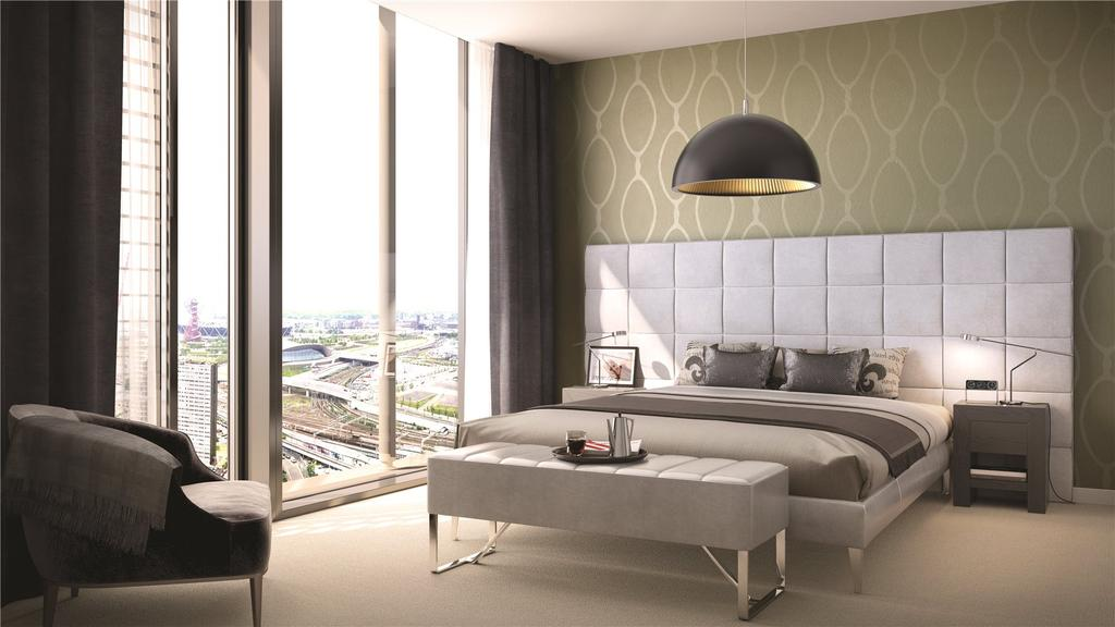 3 Bedrooms Penthouse Flat for sale in Stratosphere, Great Eastern Road, London, E15