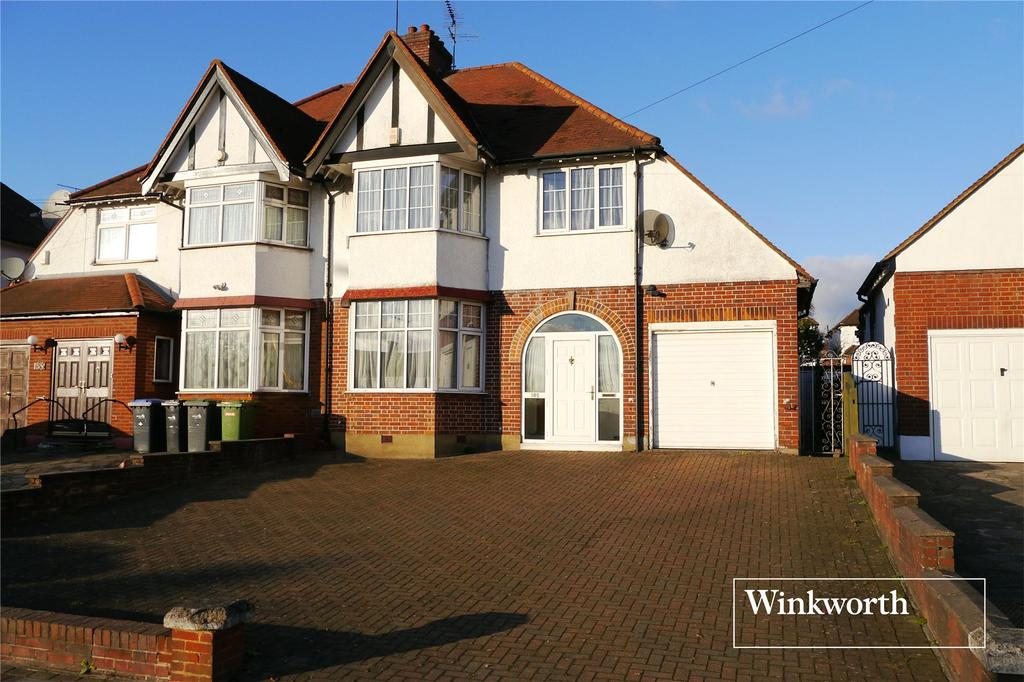 3 Bedrooms Semi Detached House for sale in Cat Hill, Cockfosters, Barnet, Herts, EN4