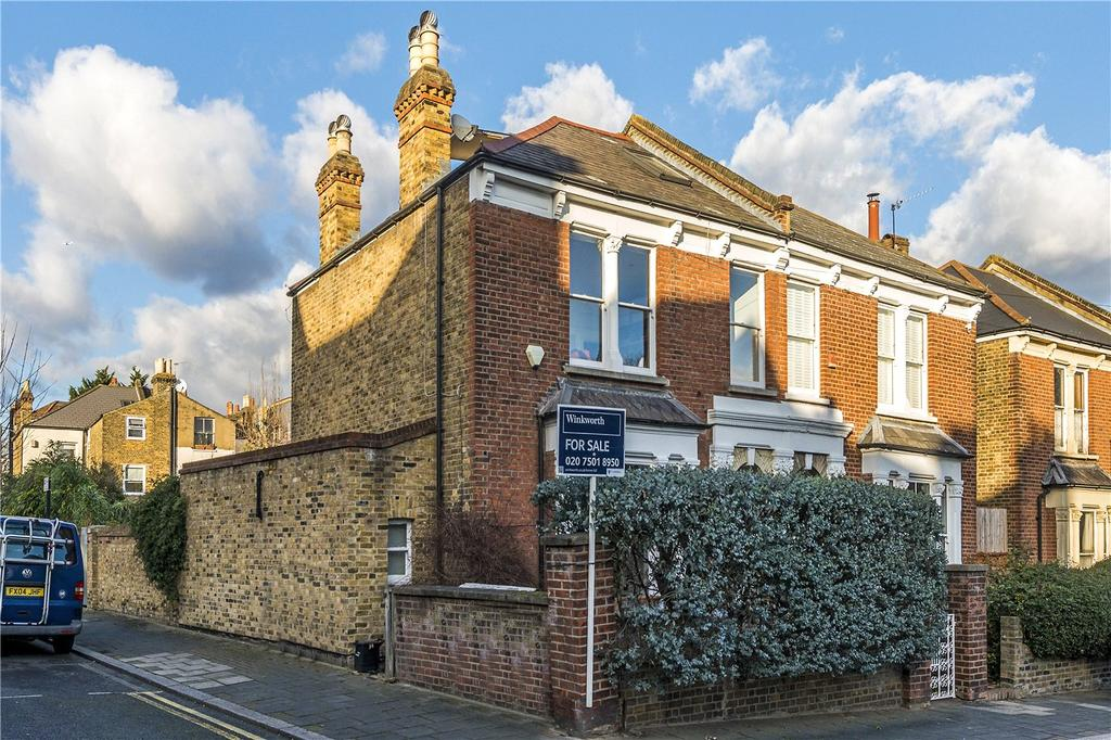 4 Bedrooms Semi Detached House for sale in Berwyn Road, London, SE24