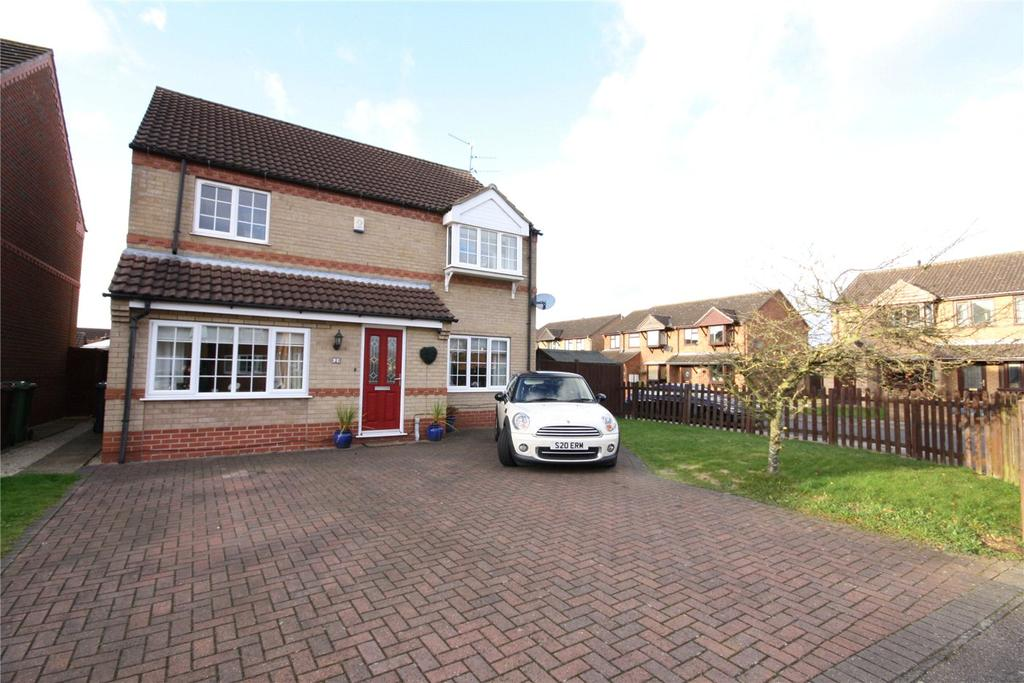 3 Bedrooms Detached House for sale in Mallory Close, Lincoln, Lincolnshire, LN6