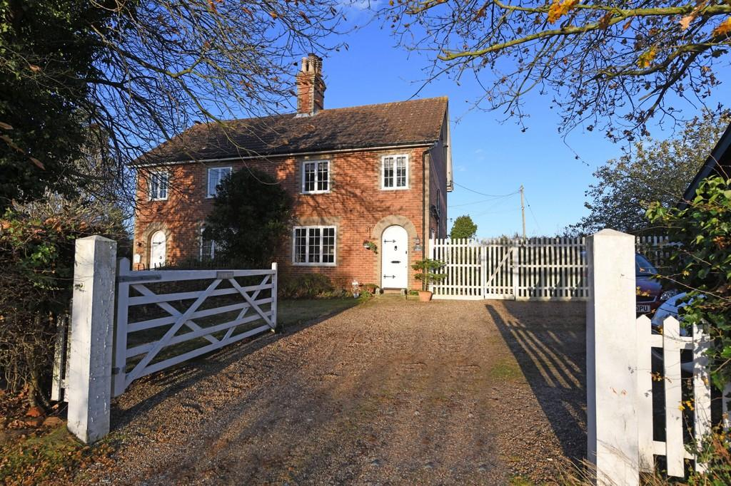 3 Bedrooms Semi Detached House for sale in Friston, Nr Heritage Coast, Suffolk