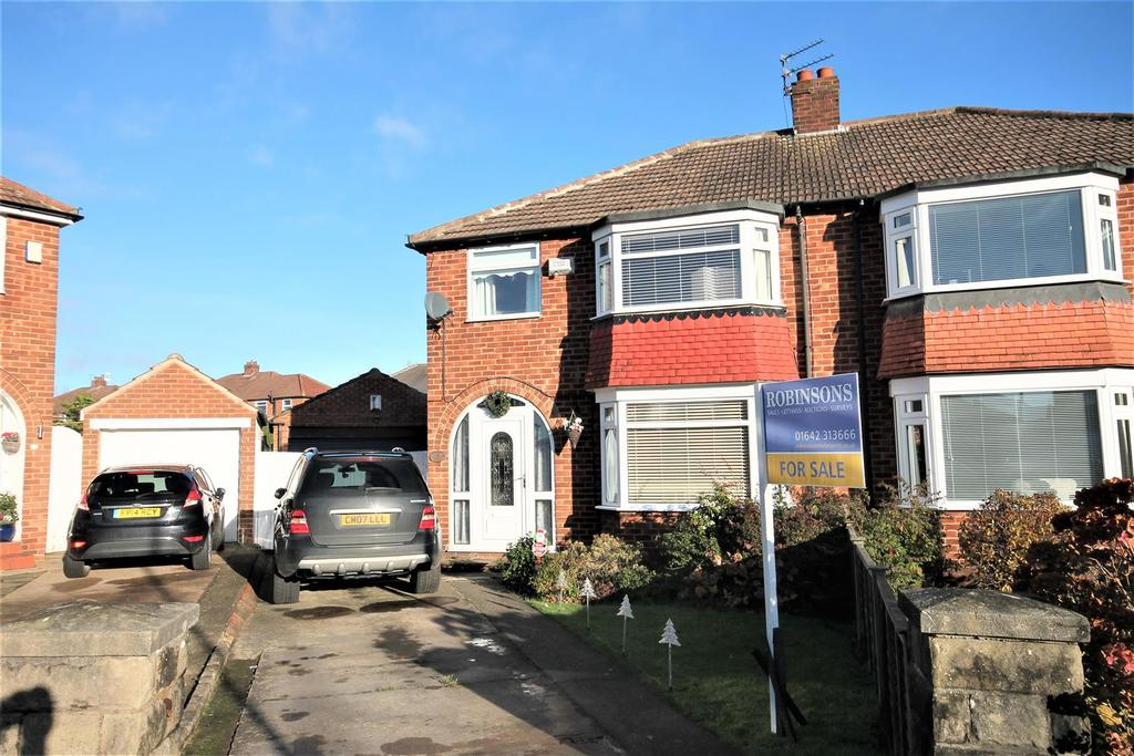 3 Bedrooms House for sale in Newham Crescent, Marton-In-Cleveland, Middlesbrough