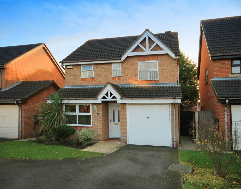 3 Bedrooms Detached House for sale in SQUIRES WAY, LITTLEOVER