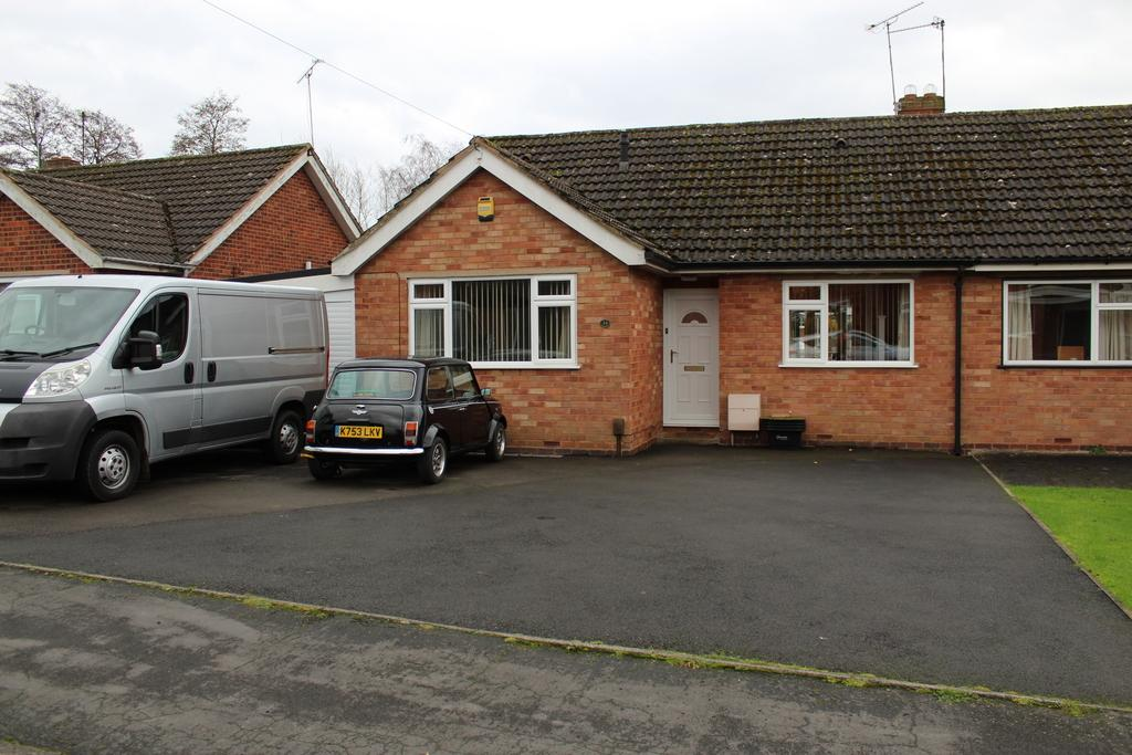 2 Bedrooms Semi Detached Bungalow for sale in 34 Stafford Avenue Shifnal, 34 Stafford Avenue