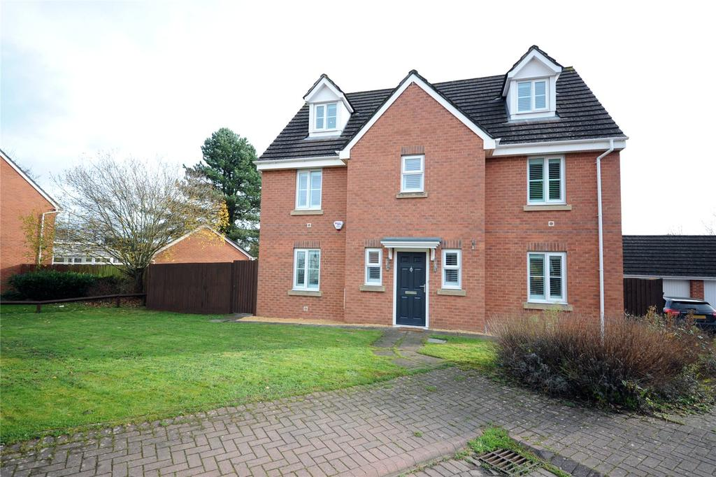 6 Bedrooms Detached House for sale in Wentloog Rise, Castleton, Cardiff, CF3