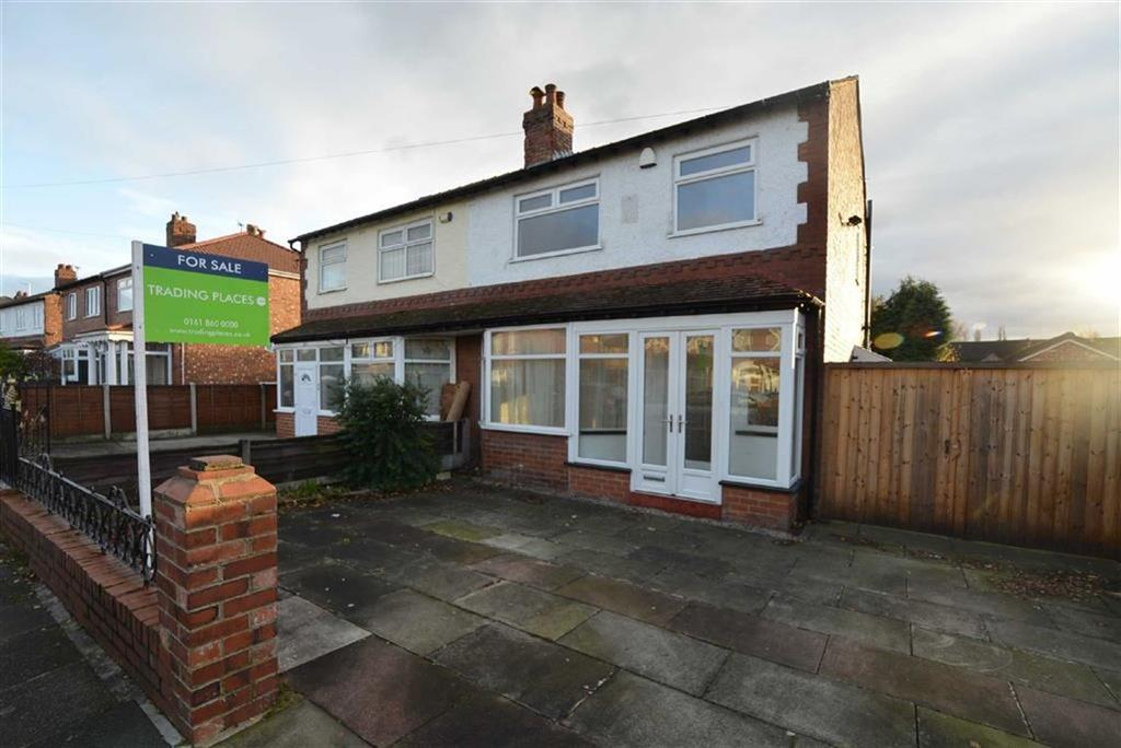3 Bedrooms Semi Detached House for sale in Egerton Road South, CHORLTON, MANCHESTER