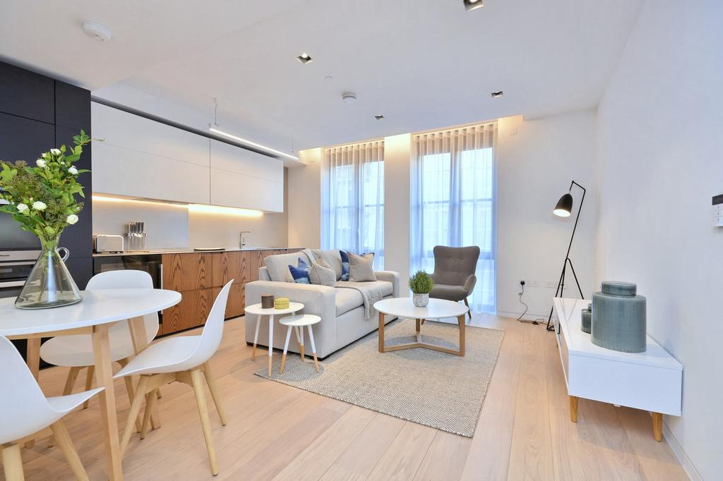 1 Bedroom Flat for rent in Vicary House, St Barts Square, Barbican, London, EC1A 7BB