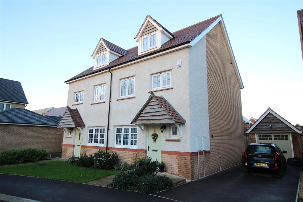 4 Bedrooms Semi Detached House for sale in Excalibur Drive, Mon Bank, Newport