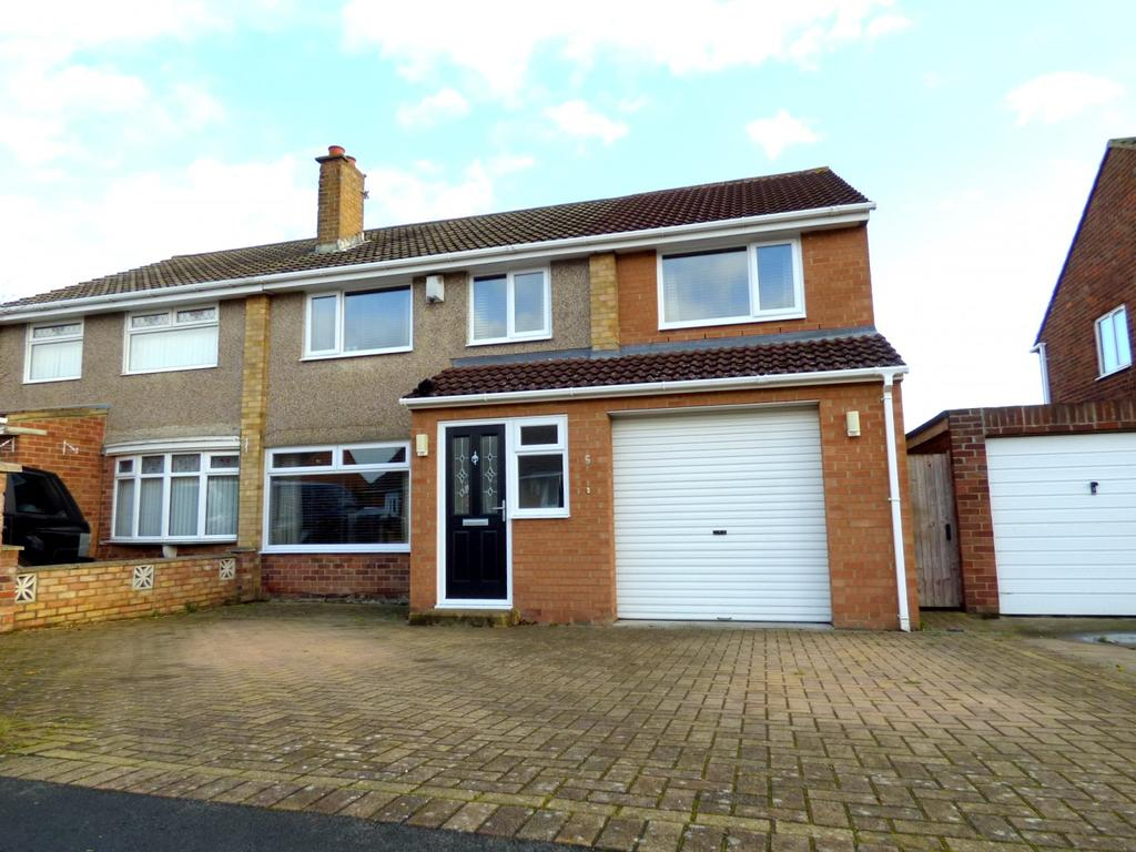 4 Bedrooms Semi Detached House for sale in Tyrone Road, Stockton-On-Tees, TS19