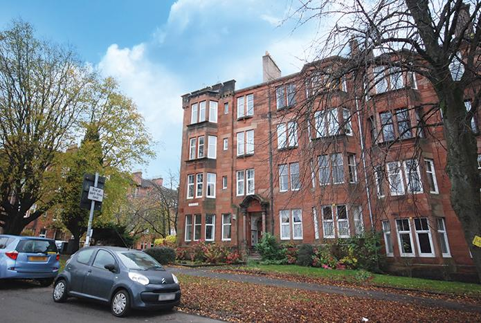 1 Bedroom Flat for sale in 30 Woodcroft Avenue, Broomhill, G11 7HY
