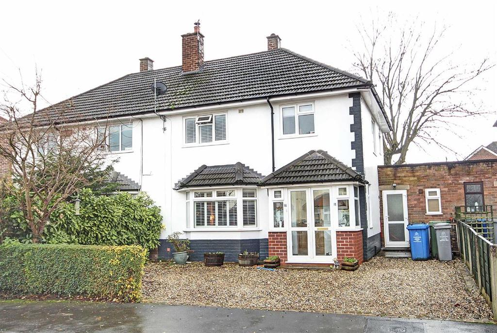3 Bedrooms Semi Detached House for sale in Long Hey, Hale, Cheshire