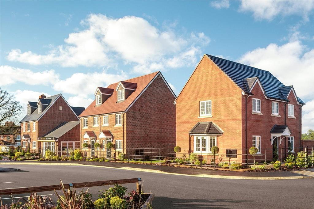 2 Bedrooms Semi Detached House for sale in Plot 74, Hopefield Grange, Littleworth Road, Benson, Oxfordshire, OX10