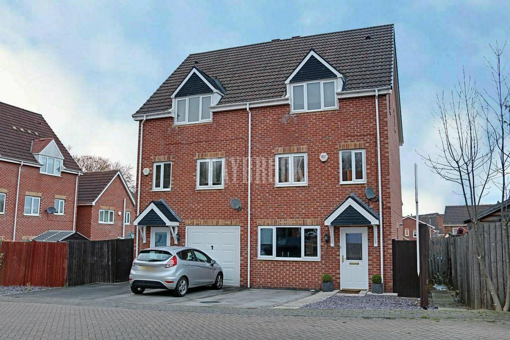 3 Bedrooms Semi Detached House for sale in Novara Close, Barnsley