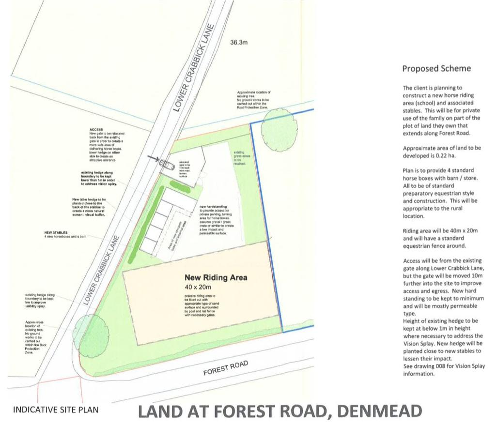 Land Commercial for sale in LOWER CRABBICK LANE, DENMEAD - Price Guide 125,000 - 150,000