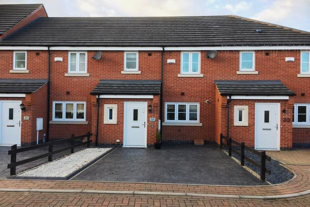 3 Bedrooms Terraced House for sale in Two Steeples Square, Wigston, LE18