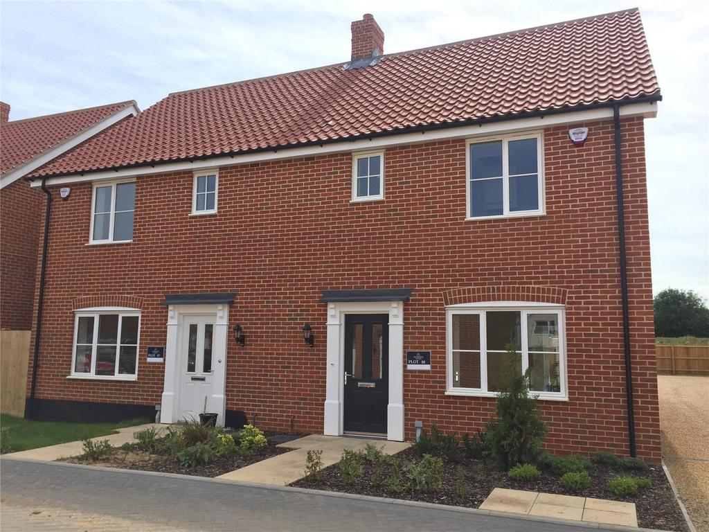 3 Bedrooms Semi Detached House for sale in Plot 88 Broadbeach Gardens, Stalham, Norfolk, NR12