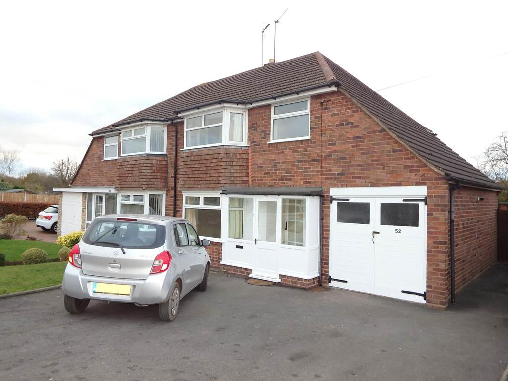 3 Bedrooms Semi Detached House for rent in Dunstall Road , Halesowen, West Midlands