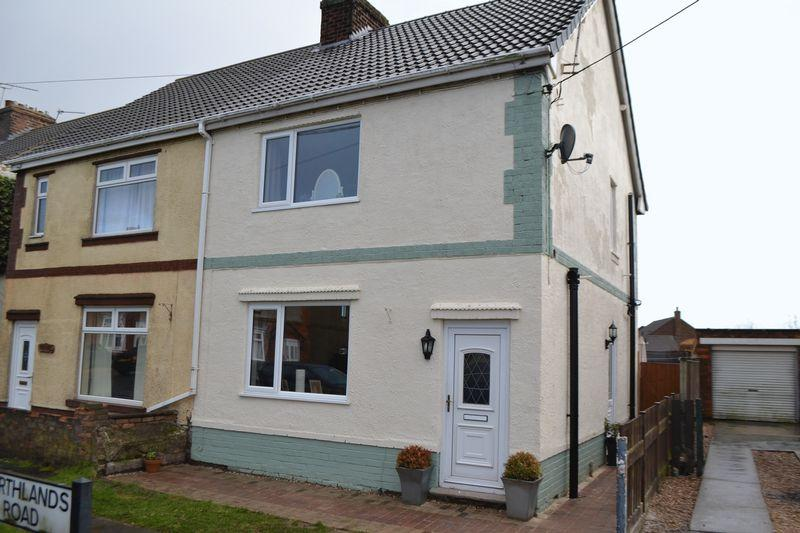 2 Bedrooms Semi Detached House for sale in Northlands Road, Winterton