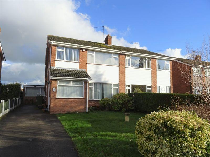 3 Bedrooms Semi Detached House for sale in Dean Close, Wrexham