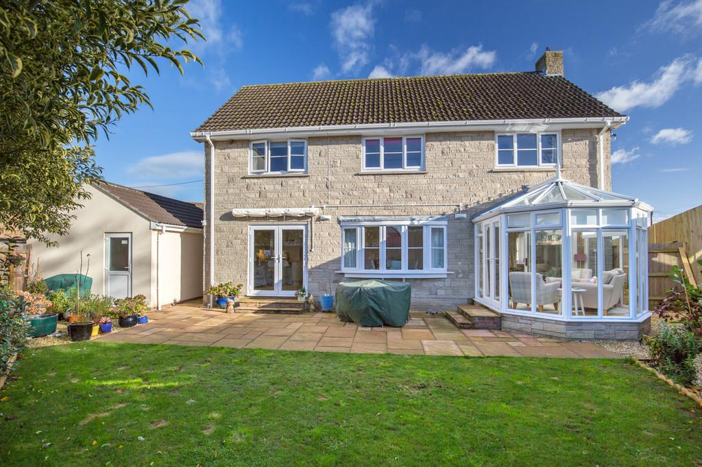 4 Bedrooms Detached House for sale in Wookey, Wells