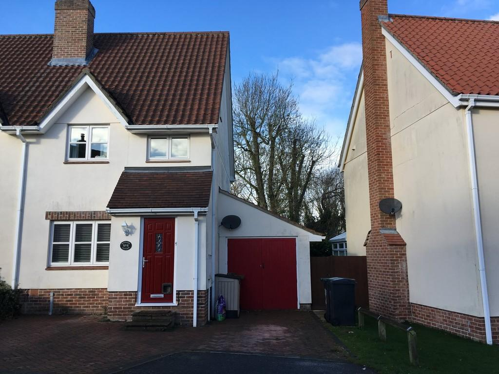 3 Bedrooms Semi Detached House for sale in Columbine Way, Gislingham
