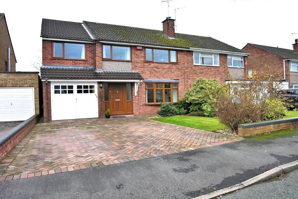 4 Bedrooms Semi Detached House for sale in ST IVES CLOSE, WEEPING CROSS, STAFFORD ST17