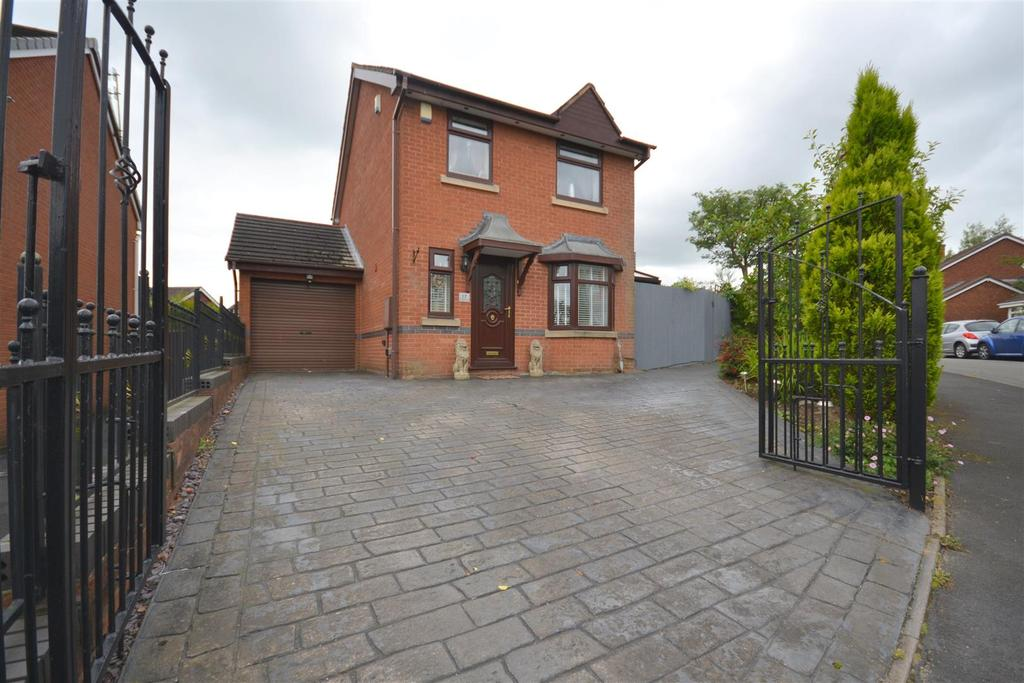 3 Bedrooms Detached House for sale in Winghay Road, Kidsgrove