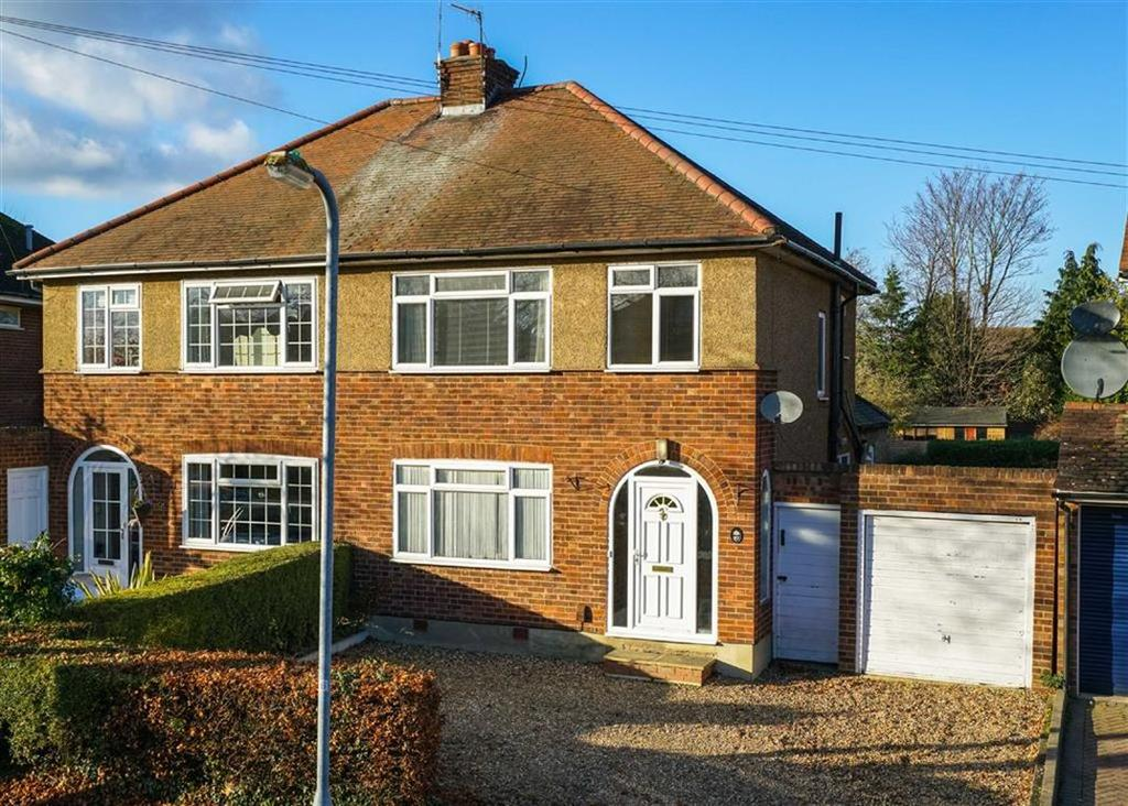 3 Bedrooms Semi Detached House for sale in Pondfield Crescent, St Albans, Hertfordshire