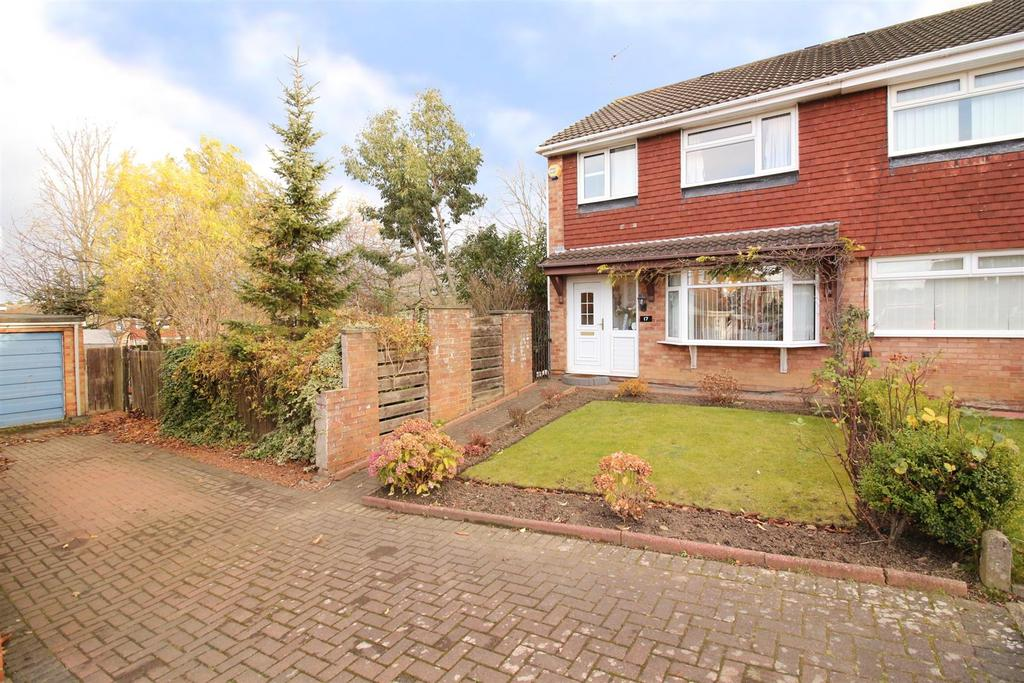 3 Bedrooms Semi Detached House for sale in Cowdray Court, Newcastle Upon Tyne