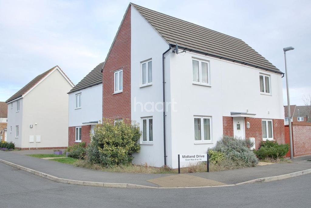 3 Bedrooms Semi Detached House for sale in Broughton, Milton Keynes
