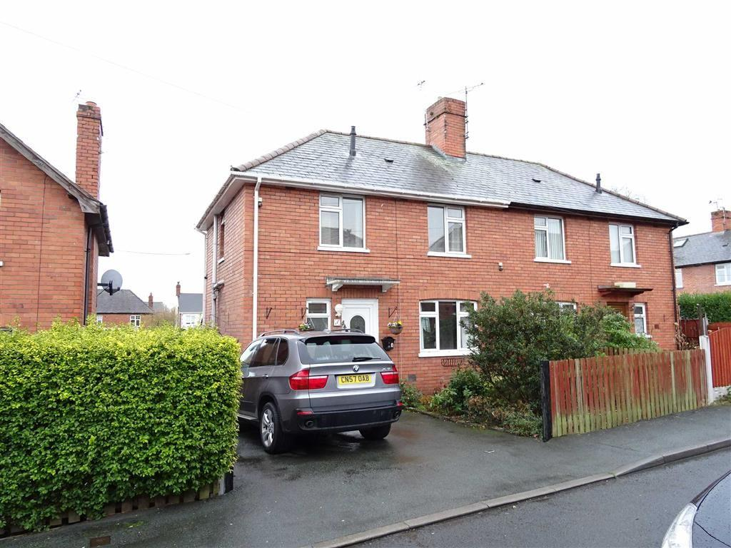 3 Bedrooms Semi Detached House for sale in 4, Offa Drive, Oswestry, Shropshire, SY11