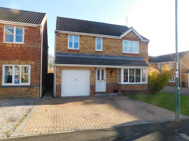 4 Bedrooms Detached House for sale in DICKENS WAY, CROOK, BISHOP AUCKLAND