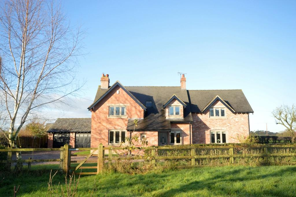 4 Bedrooms Detached House for sale in Lower Whitley, Cheshire