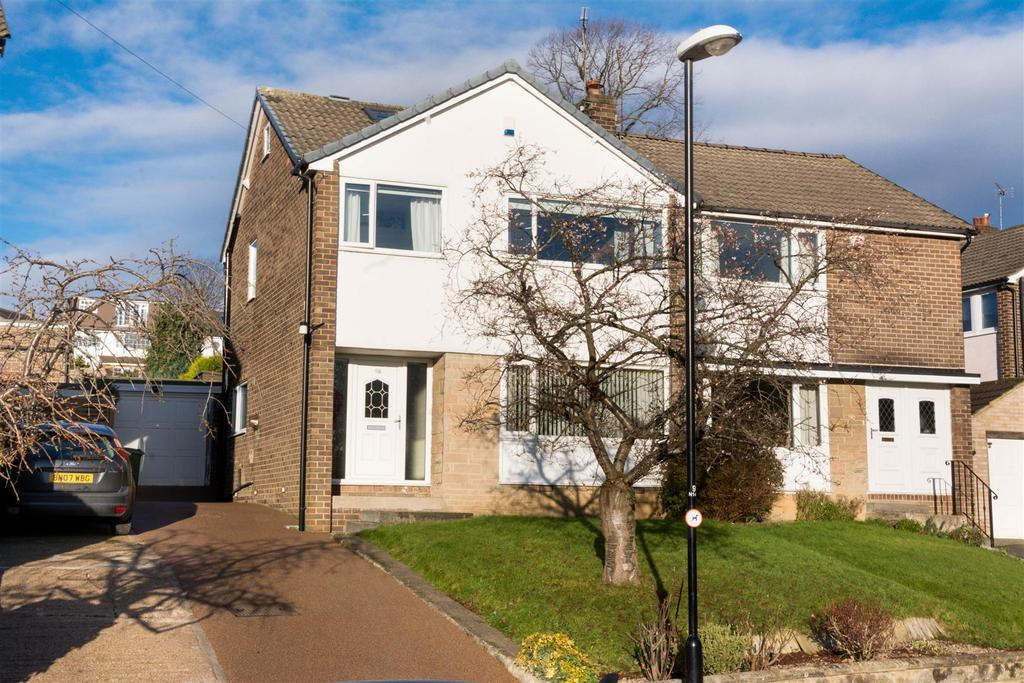 4 Bedrooms Semi Detached House for sale in Newlay Grove, Horsforth